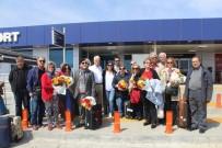 UÇAK BİLETİ - İlk Emekli Grubu Tatil İçin Alanya'ya Geldi