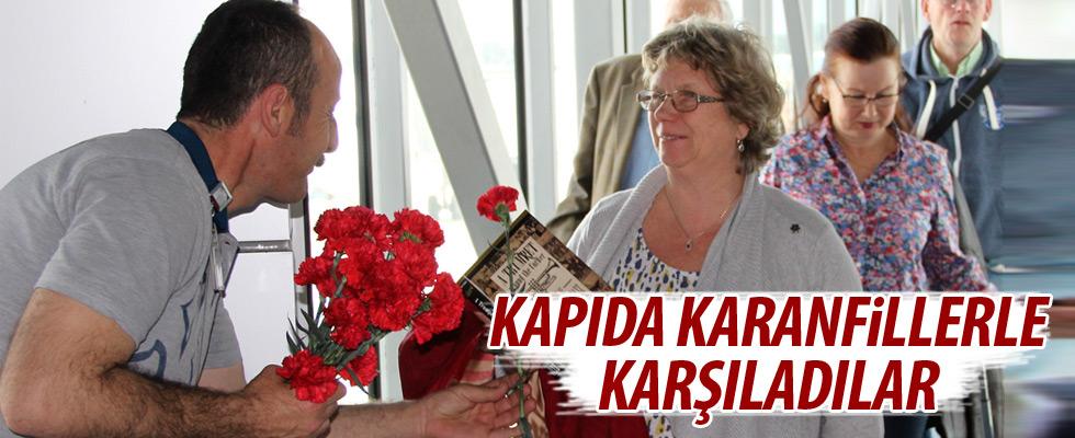 Bodrum'da özel karşılama