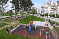 KÖPEK - Konyaaltı Liman Mahallesi'nde 17. Park Hizmete Açıldı