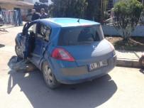 ARSLANBEY - Manevra Yapan Otomobile, TIR Çarptı Açıklaması 1 Yaralı