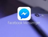 FACEBOOK - Facebook Messenger'dan yeni özellik