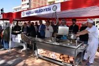 Nazilli Belediyesi, Yazıcıoğlu Ve Arkadaşları İçin Lokma Döktürüp Mevlit Okuttu