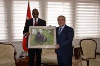 GAZI MUSTAFA KEMAL - Ruanda Büyükelçisi Kütahya'da