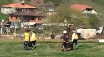 GÖKTEPE - Sakarya'da feci yangın: 3 çocuk öldü