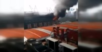 SHANGHAI - Shanghai Shenhua'nın Stadında Yangın Çıktı