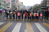 BİSİKLET - Trabzon'da Okullararası Bisiklet Yarışması