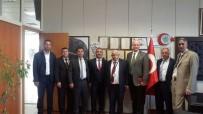 GAZİANTEP HAVALİMANI - Türk Ulaşım Sen'den Gaziantep Havalimanı Başmüdürü Kırcı'ya Ziyaret
