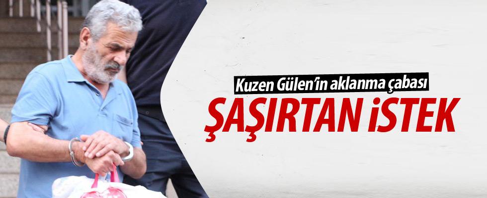 Tutuklu Gülen'den şaşırtan istek