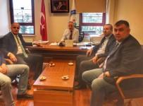 NİLÜFER - TVF Başkanı Üstündağ'dan Nilüfer Belediyespor'a Ziyaret