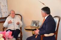 İL MİLLİ EĞİTİM MÜDÜRÜ - 103 Yaşındaki Kıymet Öğretmene Vefa Ziyareti