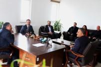 RECEP ÖZTÜRK - Ağrı İbrahim Çeçen Üniversitesi Rektörü Eleşkirt'e Ziyarette Bulundu