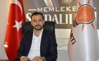 İSLAM DÜNYASI - AK Parti İl Başkanı Tanrıver, Regaip Kandilini Kutladı