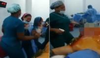HASTANE YÖNETİMİ - Ameliyathanede Skandal Görüntüler !
