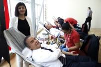 KONYAALTI BELEDİYESİ - Başkan Böcek'in Hedefi Kan Bağışında Altın Madalya