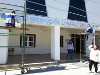 ONARIM ÇALIŞMASI - Belediye Hizmet Binalarında Bakım Var