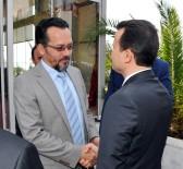 MUSTAFA ASLAN - Bircan, Cumhurbaşkanlığı Halkla İlişkiler Başkanı Astarcı'yı Ağırladı