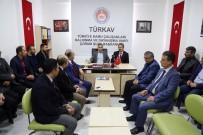 SALİM USLU - Bostancı'dan TÜRKAV'a Ziyaret