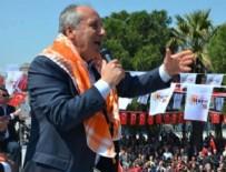 CUMHURBAŞKANı - CHP'li İnce'den Manisa Mitingleri