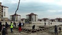 SEMT PAZARI - Erciş Sahil Kent Semt Pazarı Temeli Atıldı