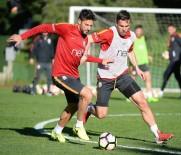 AHMET ÇALıK - Galatasaray'da Adanaspor Maçı Hazırlıkları