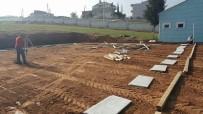 Güldede Mezarlığına Gasilhane Yapılıyor