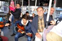 HALK OTOBÜSÜ - Halk Otobüsünde Sazlı Sözlü Yolculuk