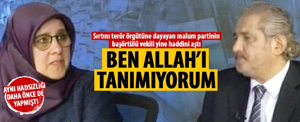 HDP'li Hüdâ Kaya yine haddini aştı