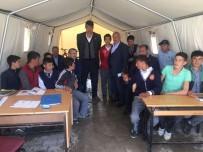 OĞUZ KAAN SALICI - Milletvekili Salıcı, Depremzedeleri Ziyaret Etti