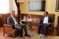 SİVAS VALİSİ - Sağlık-Sen Genel Başkanı Memiş'ten Vali Gül'e Ziyaret