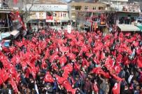 ŞEHİT AİLELERİ - Sason'da 'Teröre Hayır, Kardeşliğe Evet' Mitingi