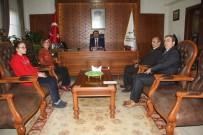 SATRANÇ - Satranç Federasyonu İl Temsilciliğinden Vali Aktaş'a Ziyaret