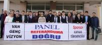KAYHAN TÜRKMENOĞLU - 'Van Genç Vizyon' Referandum İçin Alana İndi