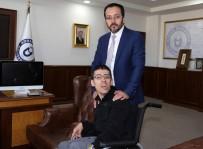 ENGELLİ ÖĞRENCİ - ADÜ Rektörü Bircan Engelli Öğrenciye Verdiği Sözü Tuttu