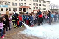 FELAKET - Araç'ta Öğrenciler İçin Yangın Tatbikatı Yapıldı