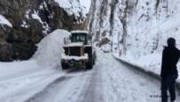 ÇIĞ DÜŞMESİ - Ardahan-Şavşat yoluna çığ düştü!