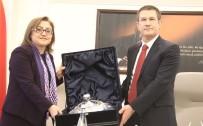 AHMET UZER - Başbakan Yardımcısı Canikli'den Şahin'e Ziyaret