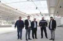 PAZAR ESNAFI - Başkan Kocadon, Bitez Yeni Pazar Yerini Gezdi