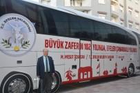 MESUT ÖZAKCAN - Başkan Özakcan, Efeler Halkını Çanakkale'ye Uğurladı