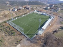 SAĞLIKÇI - Büyükşehir, Çerkeşli'de Yurt Futbol Sahasını Hizmete Açıyor