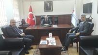 ŞAFAK BAŞA - Genel Müdür Başa Tekirdağ Vergi Dairesi Başkanını Ziyaret Etti