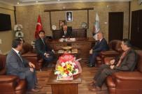 HIZMET İŞ SENDIKASı - Hizmet İş Sendikası İncesu Belediyesini Ziyaret Etti