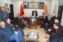 MEHMET ÖZMEN - Hüda-Par'dan AK Parti'ye Ziyaret