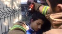 YARDIM ÇAĞRISI - İnanılmaz Kaza Açıklaması Kulağı Tellere Takıldı