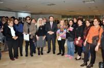 TÜRKAN SAYLAN - Maltepe'de 'Kadına Şiddete Hayır' Sergisi Açıldı