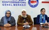 KEMER SIKMA - Memur-Sen Kadınlar Komisyonu Başkanı Öçal Açıklaması 'Referandumda 'Evet' Diyoruz'