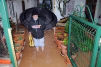 SEL FELAKETİ - Mersin'de Evleri Ve Tarım Arazilerini Su Bastı