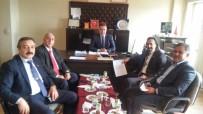 İŞ KAZASI - Oda Başkanlarından Müdür Akdaş'a Ziyaret