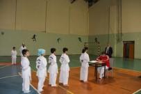 GÖZLEME - Oltu'da Taekwondo Kuşak Sınavı Yapıldı