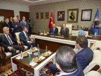 RECEP AKDAĞ - Sağlık Bakanı Akdağ, Başkan Gümrükçüoğlu'nu Ziyaret Etti