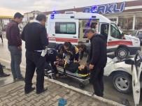 Sungurlu'da Kaza  Açıklaması 1 Yaralı